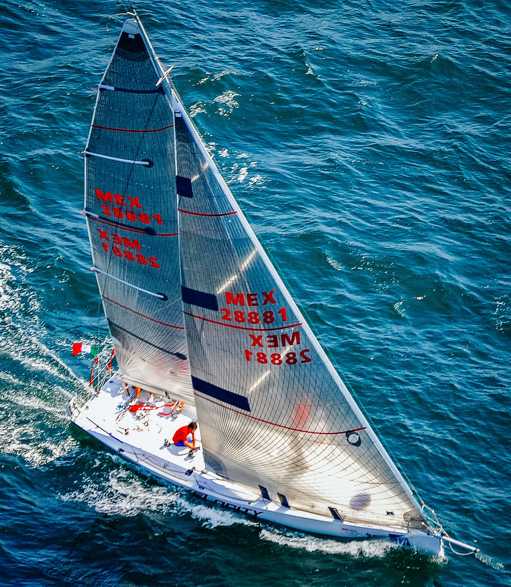UK Sailmakers Sail Numbers Racing Genoa CM1200 Velocity