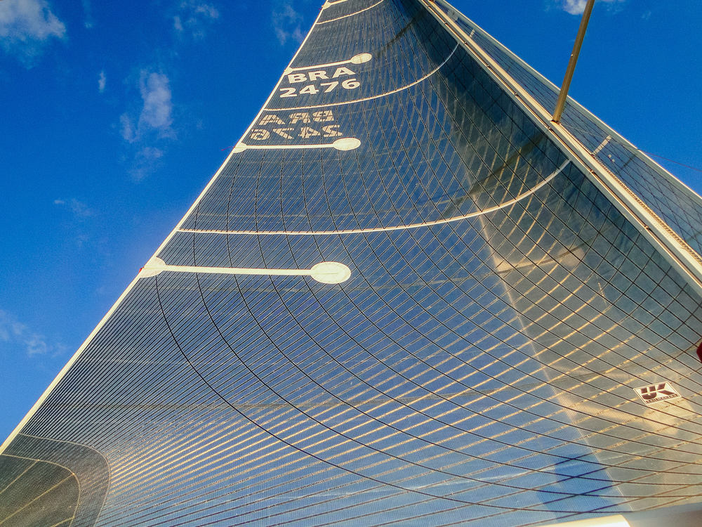UK Sailmakers Tape-Drive Mainsail