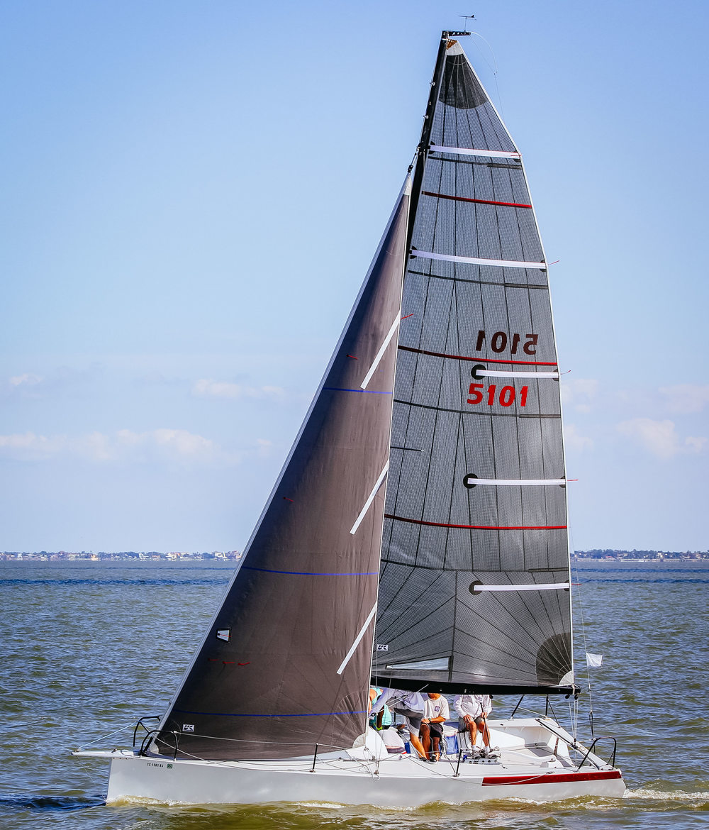 UK Sailmakers GP26 Pingo Tri-Radial Carbon Main-2