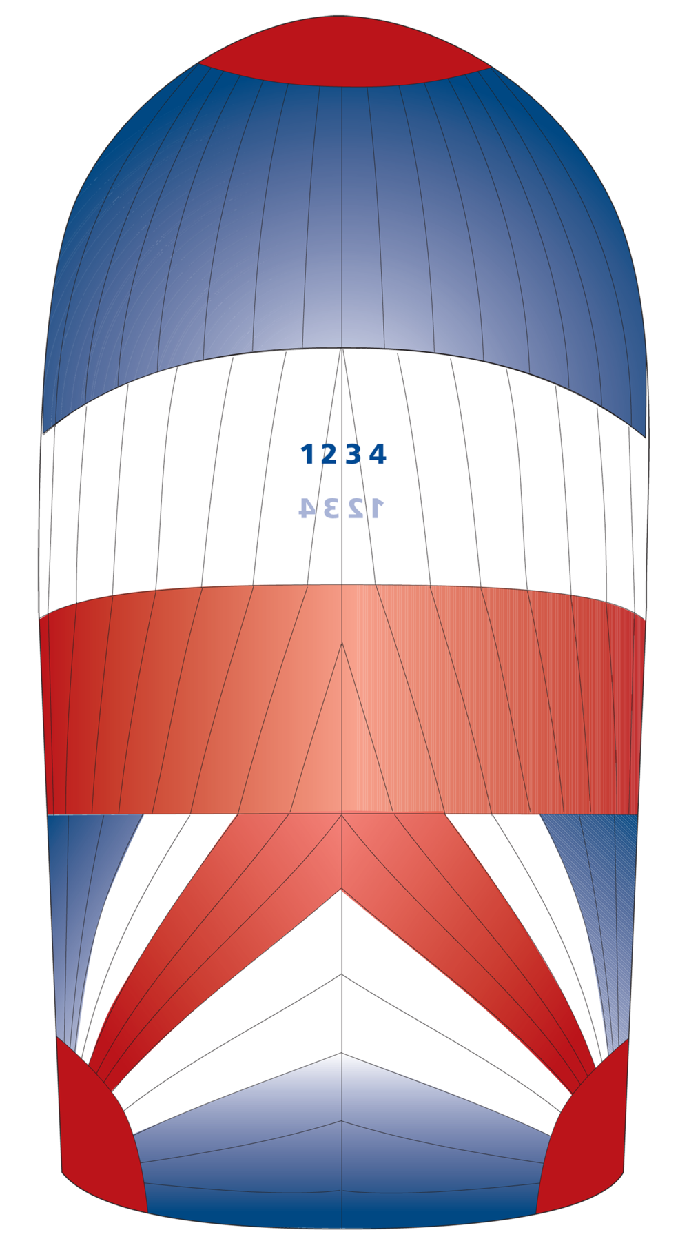 UK Sailmakers Matrix Symmetrical Spinnaker