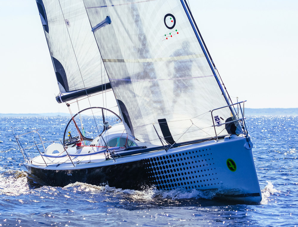 UK Sailmakers Racing Genoa Options Telltales Archambault 35