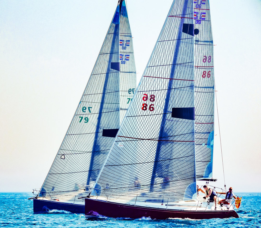 UK Sailmakers Racing Genoa Options Sail Numbers C&C99