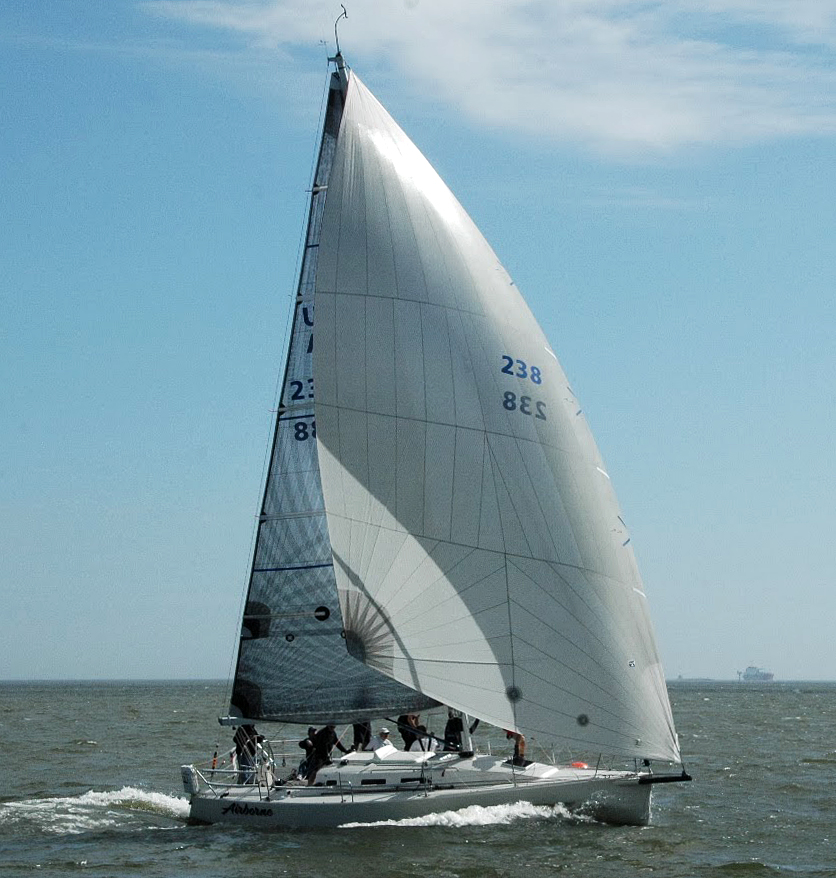 UK Sailmakers J109 Code Zero Leading Edge