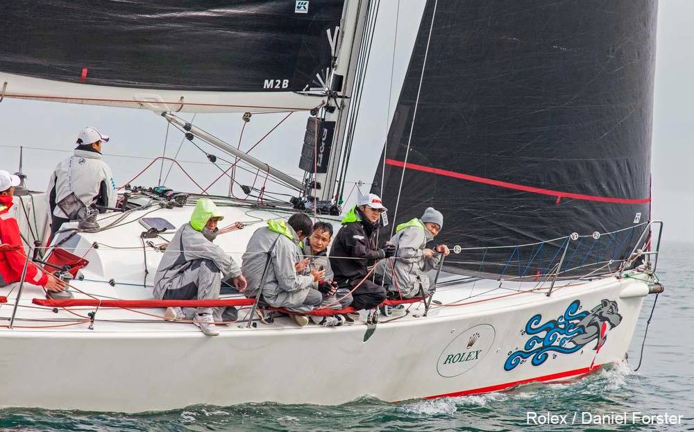 Congratulations to the A40 SEAWOLF, which took first in IRC 2, shown above sailing with you Uni-Titanium sails just after the start of the 2016 China Sea Race.