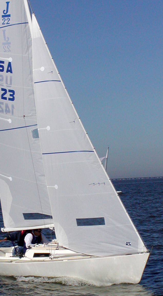 UK Sailmakers J/22 Jib