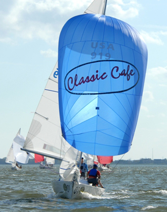 UK Sailmakers J/22 Spinnaker