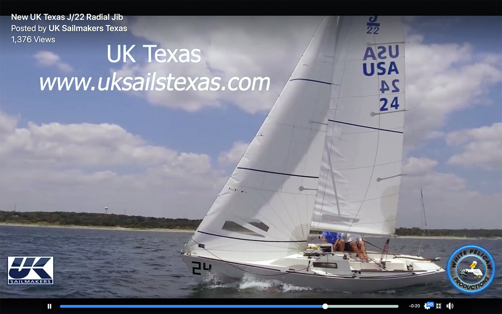 Click the image above to see a video about our latest J/22 sails designs.