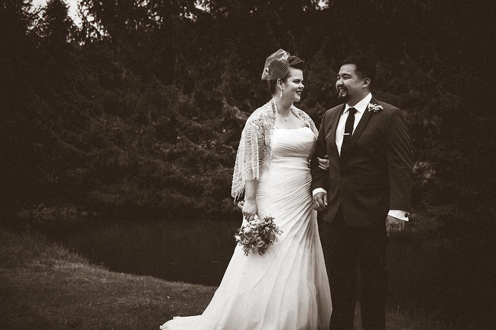 wedding portrait in the hudson valley
