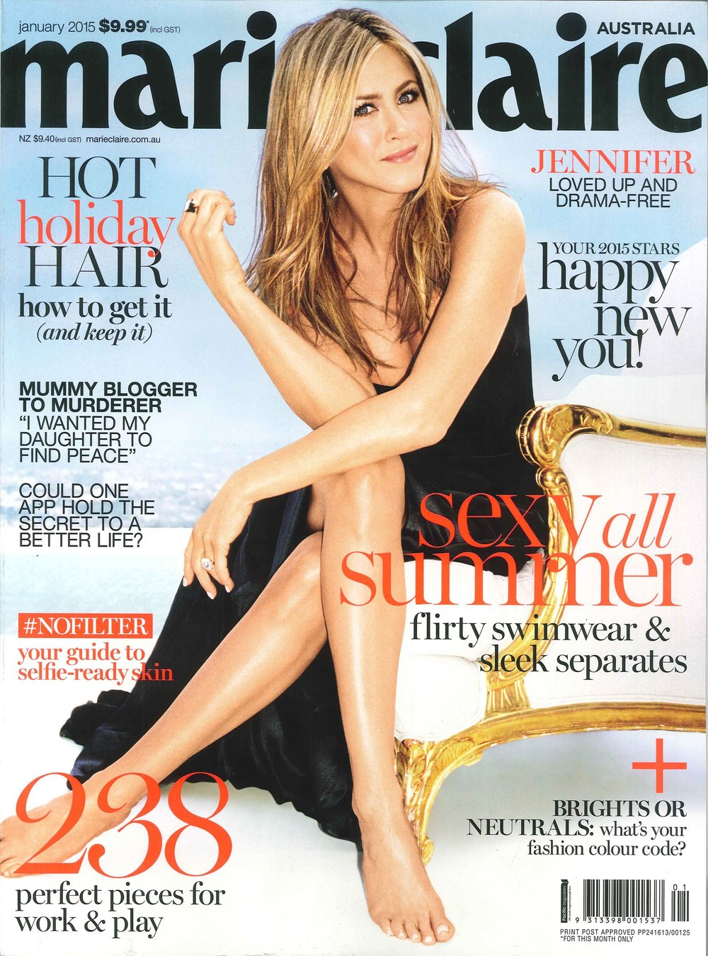 2015 - Marie Claire Australia January 2015 Issue.jpg