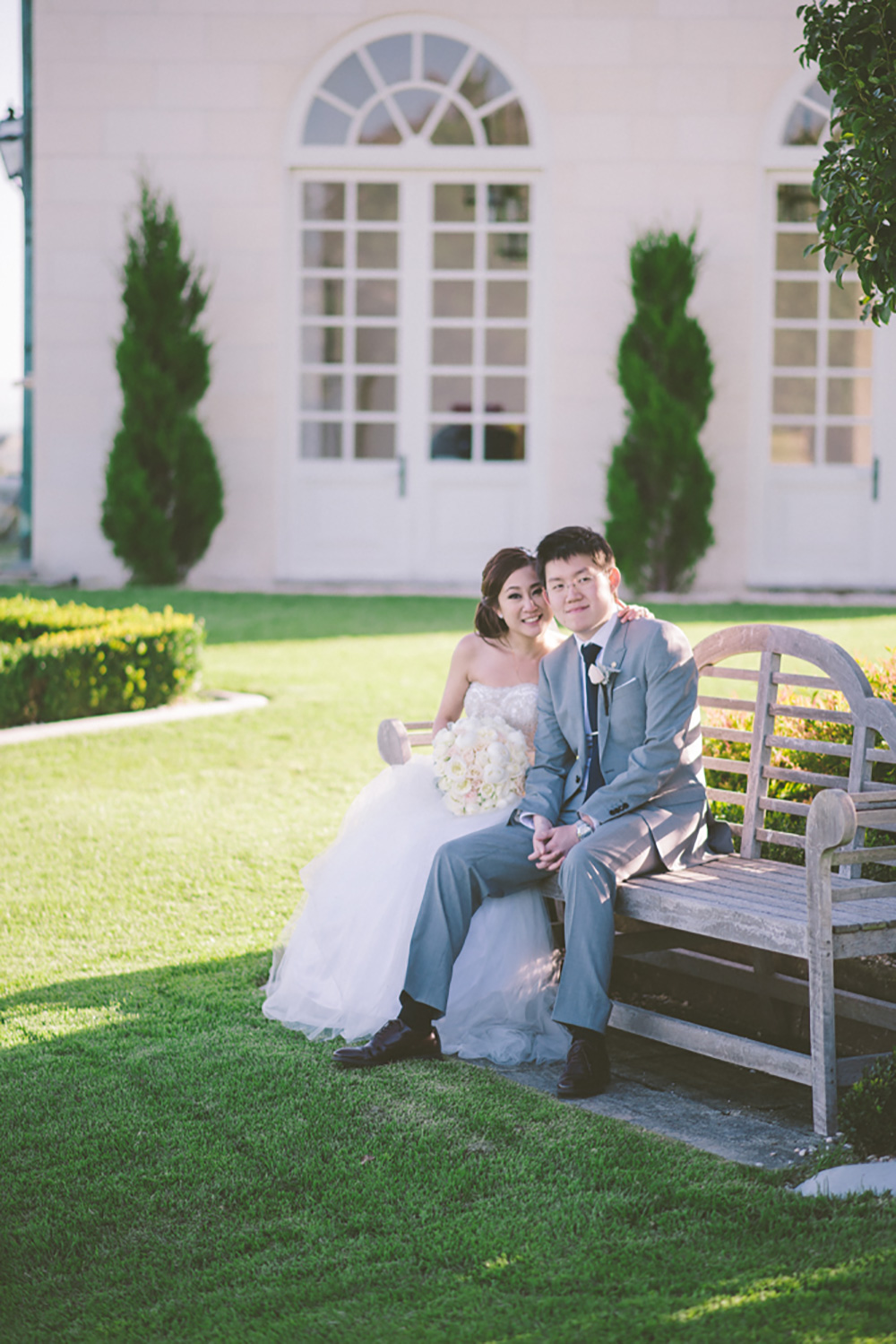 [married] Tim & Sharry, Campbell Point House, Geelong