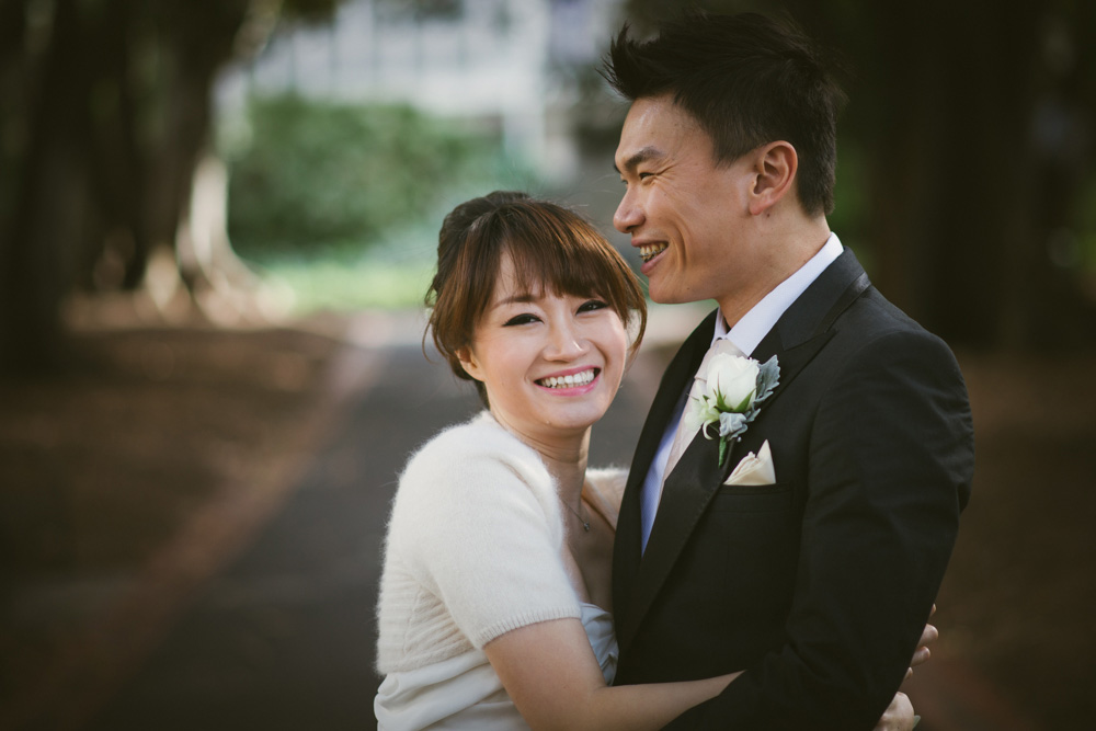 [married] Simon & Evelyn, Old Treasury Building