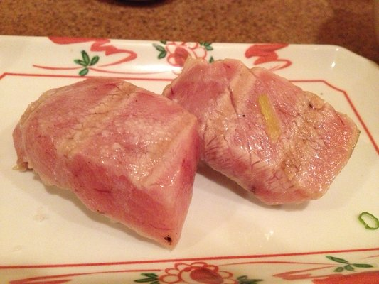 Sam's seared toro.   Photo Credit: http://www.yelp.com/biz_photos/sushi-sams-edomata-san-mateo#MJunWl-lTpqR4QpH0HtuKQ