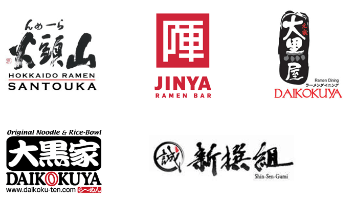 LA Area Ramen Restaurants.  Jinya Ramen Bar's approach is similar to ours. It's name and logo are much easier to remember than the others. Apparently that was the intent. We're going a step further by using a more English-friendly name and animal imagery in our logo.