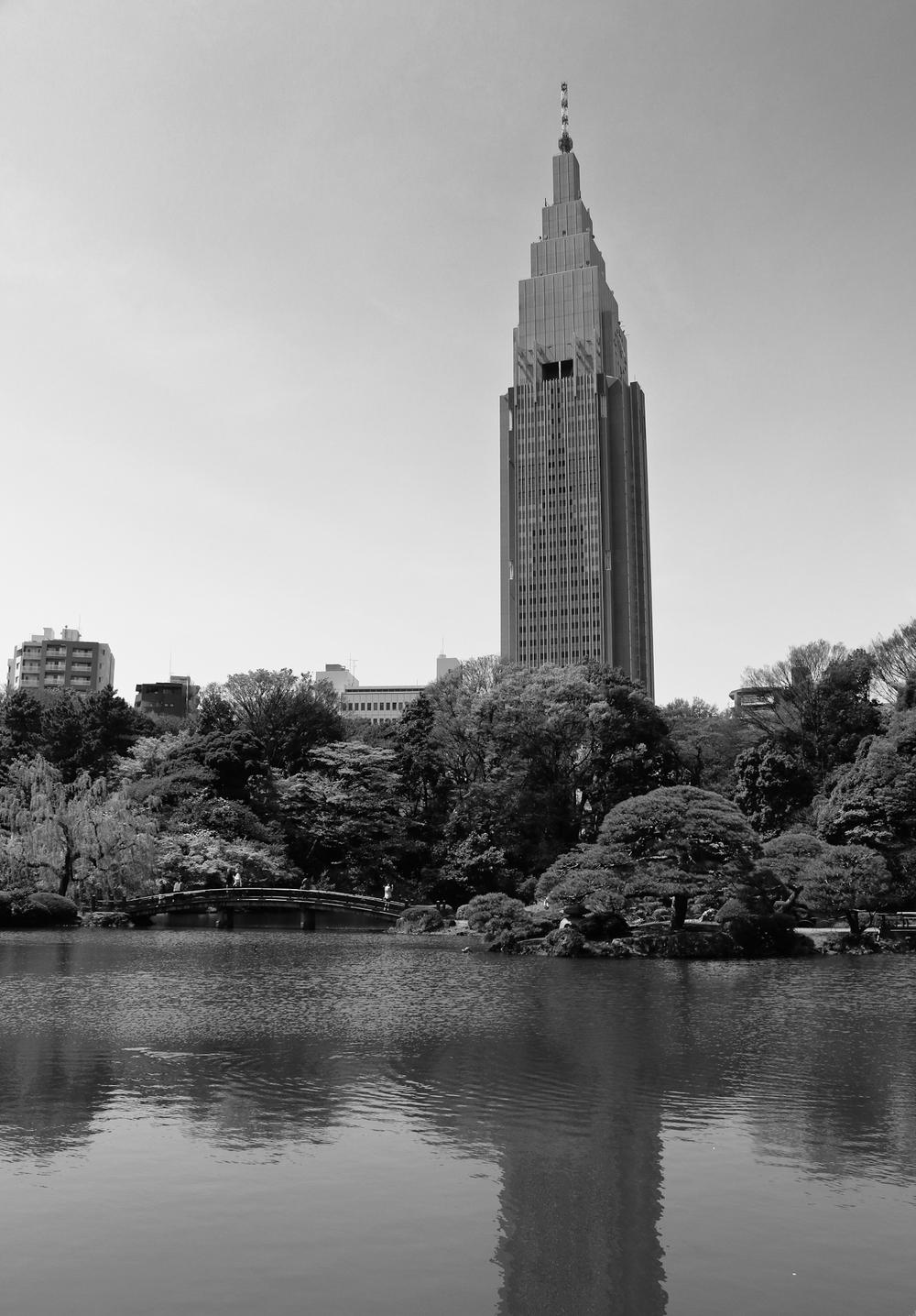 Docomo Tower, Shinjuku, Tokyo