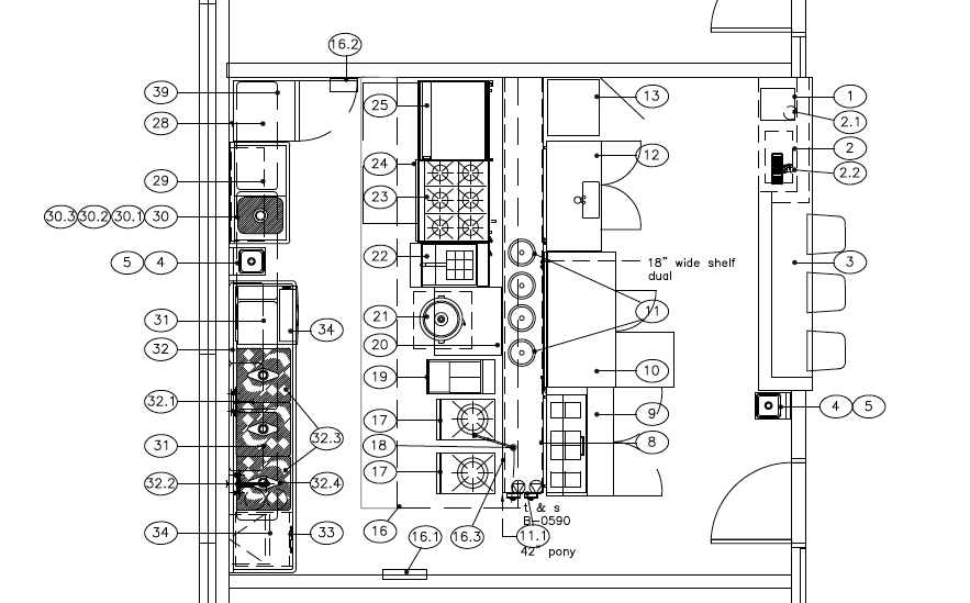 Design For Function Building A Ramen Kitchen Ramen Chemistry - Chinese restaurant kitchen layout
