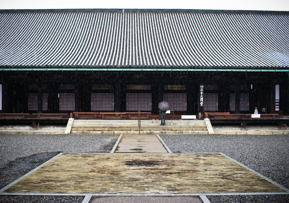Sanjusan-gen-do Temple, Kyoto