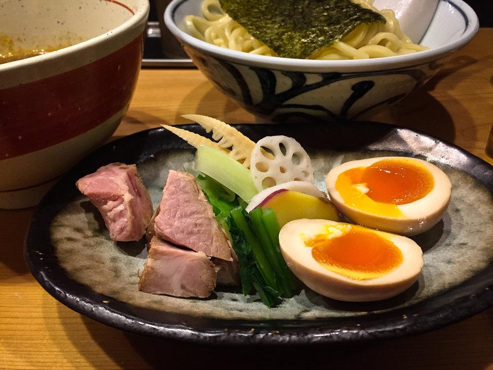 Tsuke-men. Ginza.
