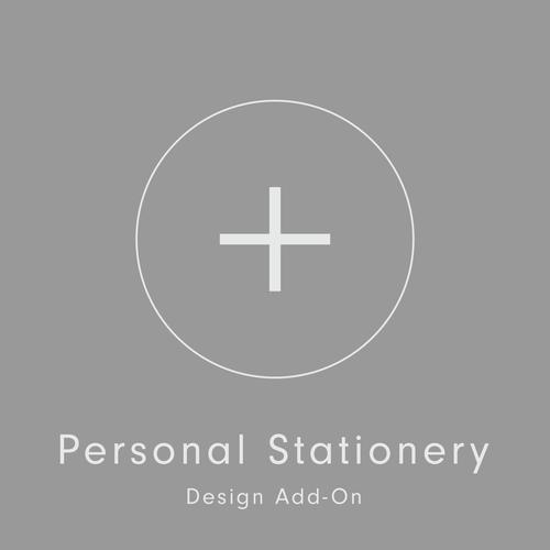 add on personal stationery wknd press