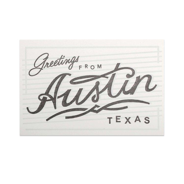 Greetings from austin postcard wknd press greetings from austin postcard m4hsunfo
