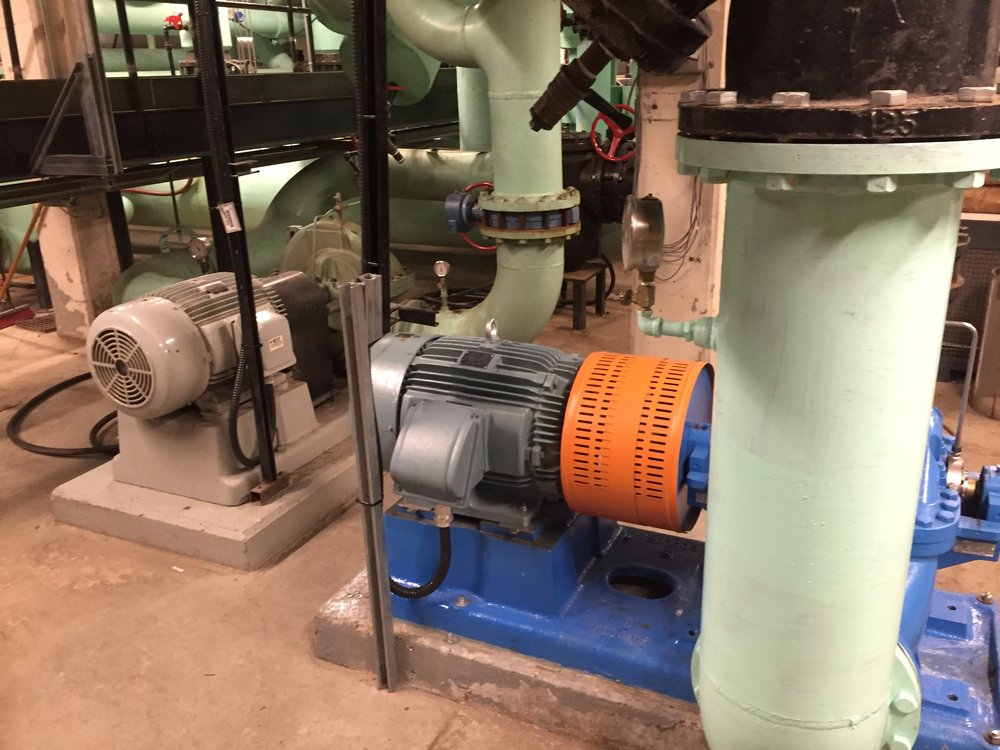 Variable Volume Pumping for Plate Heat Exchanger