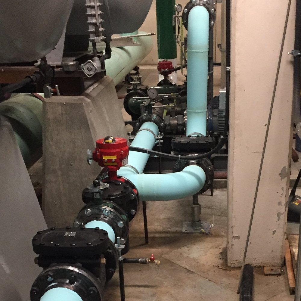 Alternate Cooling Water Supply to Turbine