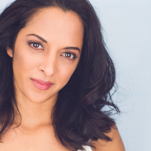 """Sunita Deshpande  / actor  Sunita Deshpande is an improviser and actor living in NYC.  She just wrote her first play, """"A Sari for Pallavi,"""" which got to top 10 out of 1500 in the Samuel French OOB Festival 2016, and she made into a short film starring herself and...herself.  She's done improv with Tina Fey in an Amex commercial and will be appearing on a popular TV show later this year as her first recurring."""
