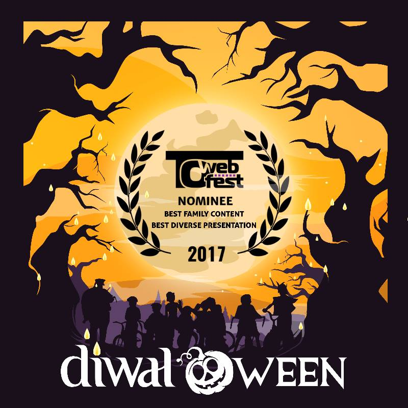 DIWALOWEEN  / Dir: Shilpa Mankikar   Toronto WebFest, South Asian Int'l Film Festival