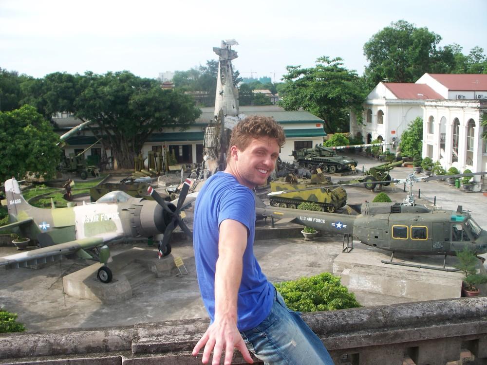 American War Museum in Hanoi