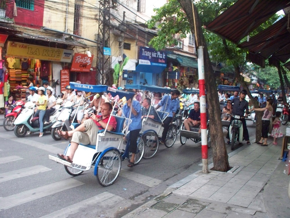Traffic Jam, Hanoi