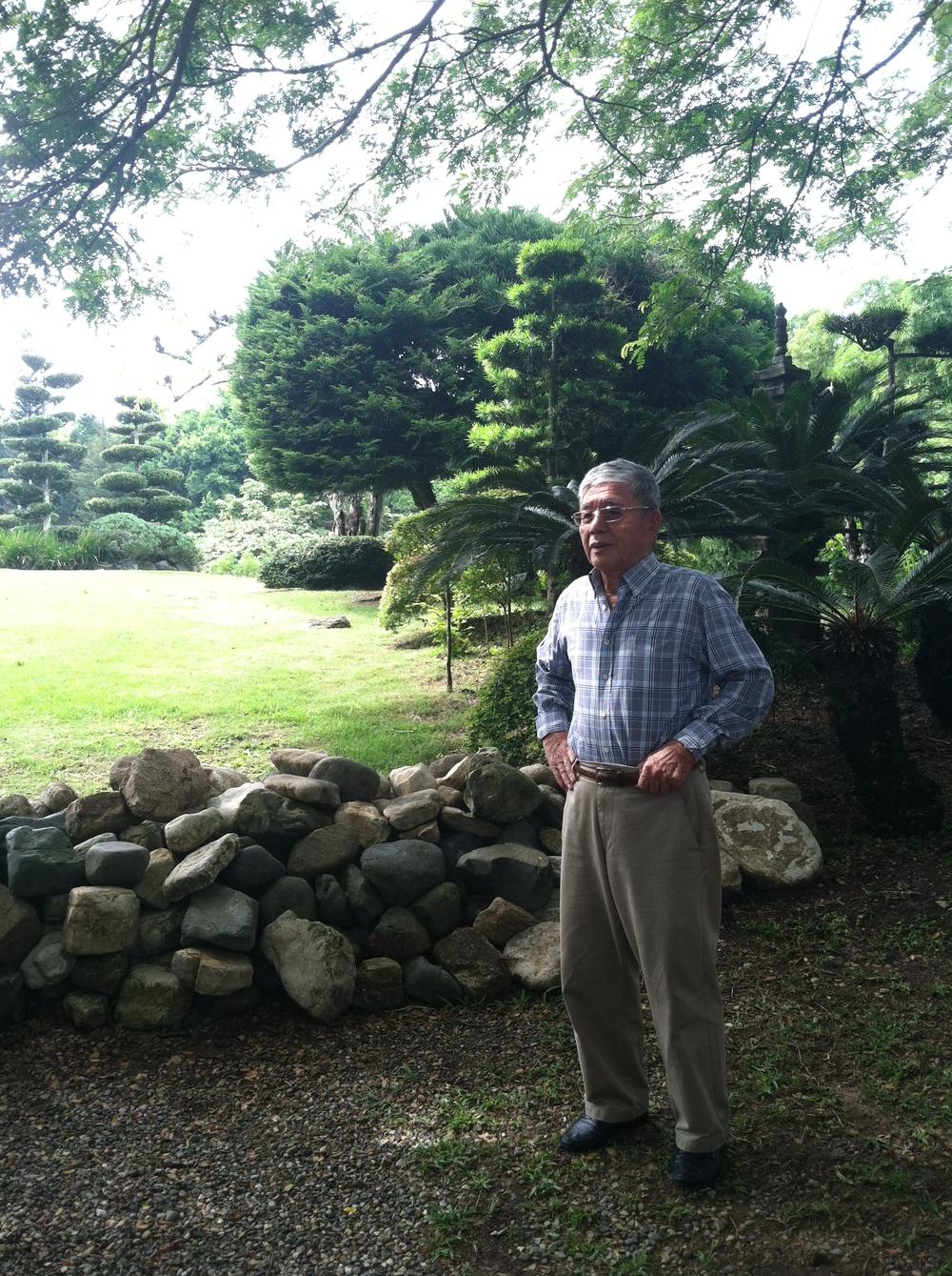 Landscape Artist Mamoru Matsunaga.