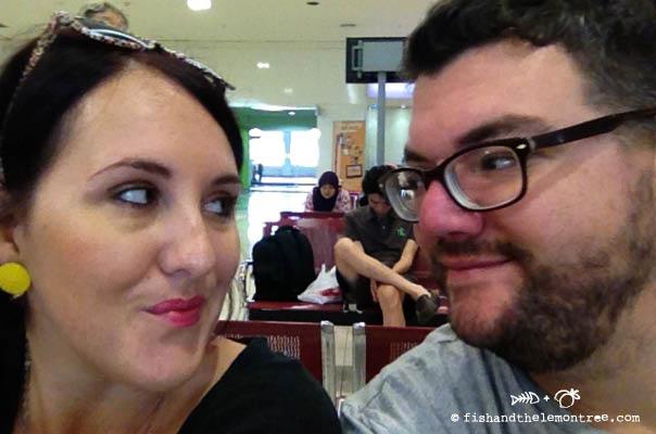 Amie & Chris in Malaysia - copyright 2013