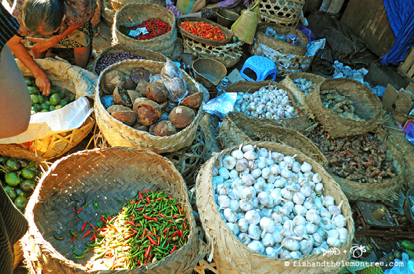 Food markets in Ubud - Amie Mason copyright 2013