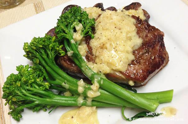 Garlic Sauce & Steak - Amie Mason copyright 2013