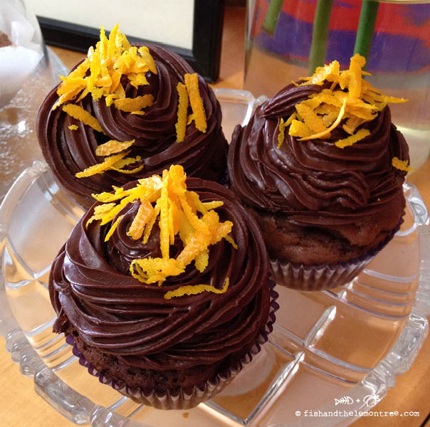 Chocolate Orange Cupcakes - Amie Mason copyright 2013