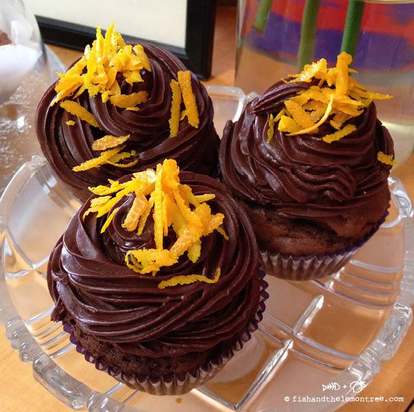 Chocolate Orange Cupcakes - Amie Mason copyright 2013