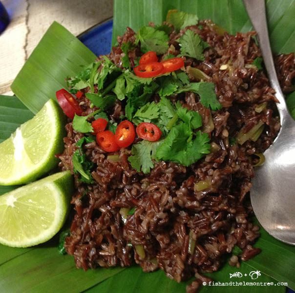 Red Rice with Coconut and Lemongrass - Amie Mason copyright 2013