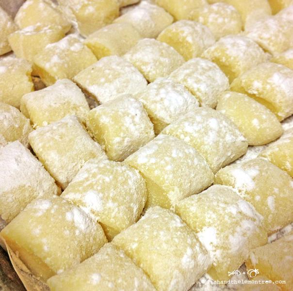 Gluten Free Gnocchi - Amie Mason copyright 2013