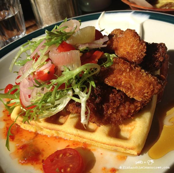 Chicken Waffles - Amie Mason copyright 2013