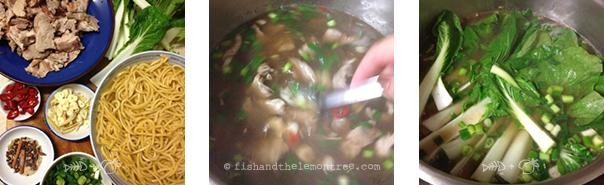 Roast Pork Noodle Soup - Amie Mason copyright 2013