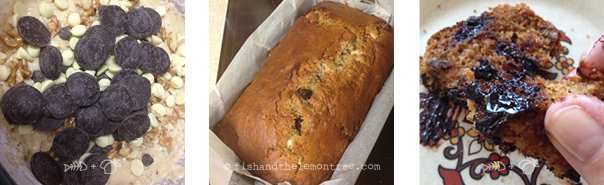 Zucchini Banana Bread - Amie Mason copyright 2013