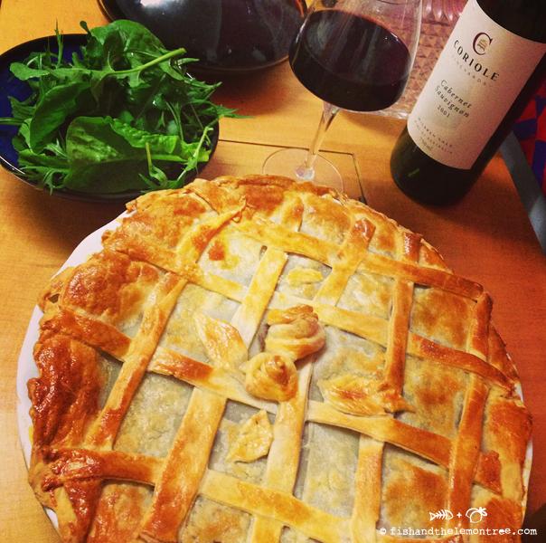 Kangaroo Red Wine Pie - Amie Mason copyright 2013