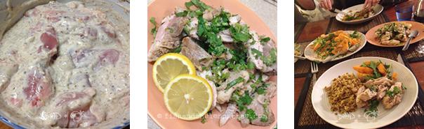 Spiced Lemon Yoghurt Chicken - Amie Mason copyright 2013