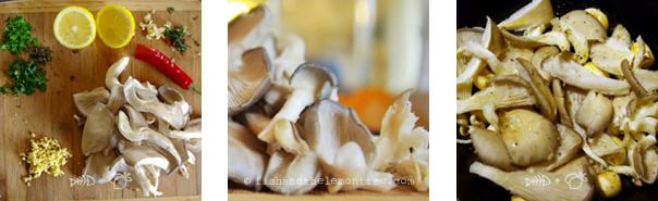 Mushroom Bruchetta - Ira Fehlberg copyright 2013