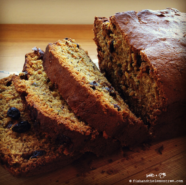 Carrot Banana Bread - Amie Mason copyright 2013