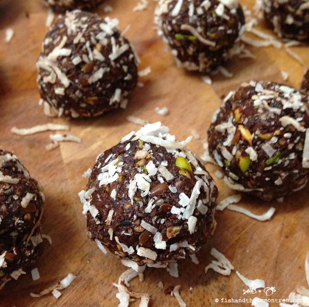 Raw Chocolate Pistachio Balls - Amie Mason copyright 2013