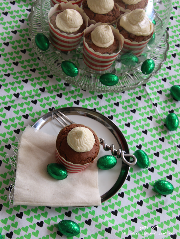 Chocolate Peppermint Cupcakes - Amie Mason copyright 2014
