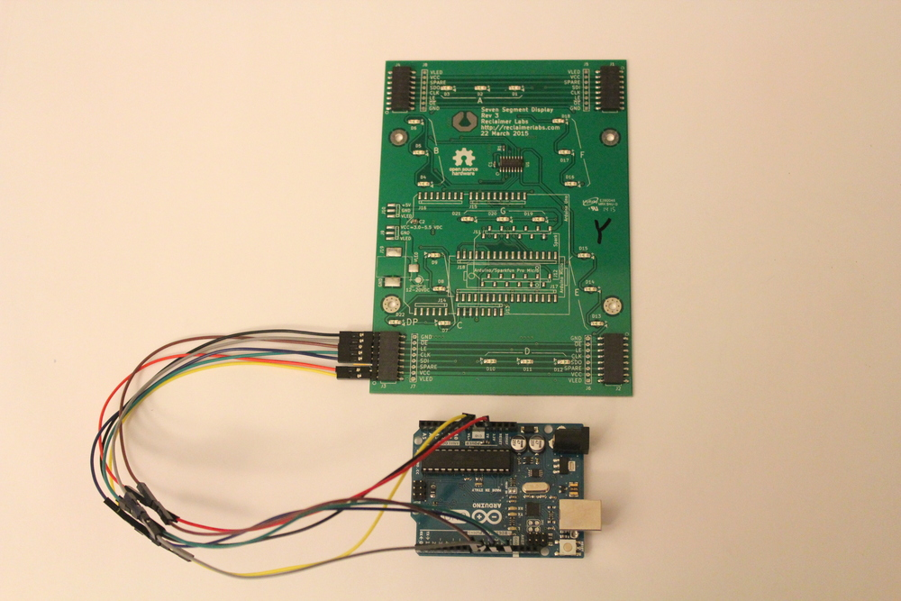 using an arduino reclaimer labs rh reclaimerlabs com Arduino I2C Address Arduino LCD Wiring
