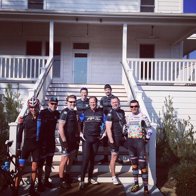 1st FFCC Founders Ride.  Recon of Sonoma Gran Fondo