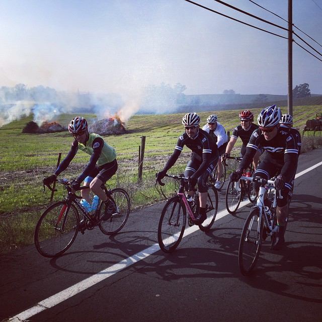 FFCC Founding members in action on beautiful Sonoma roads.