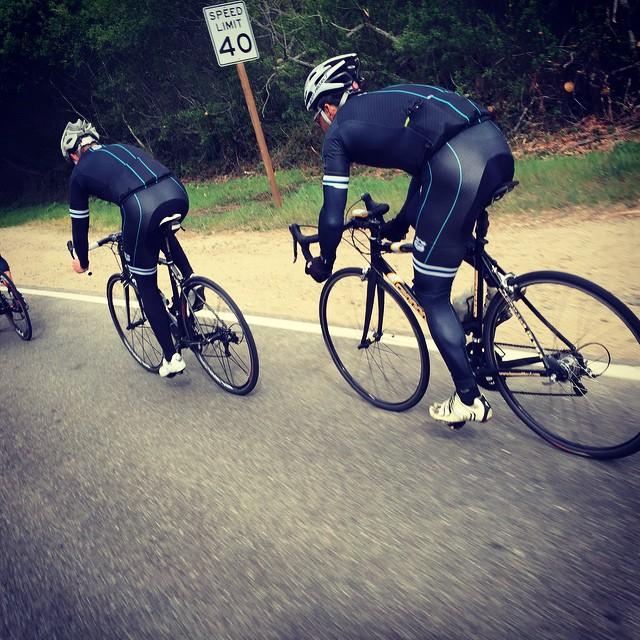 Boys looking good @bayclubs FFCC ride in Marin county.